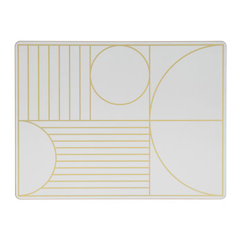 Outline Placemat - Off-White