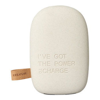 toCharge Portable Charger - Light Grey
