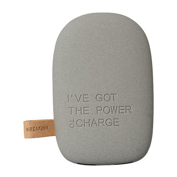 toCharge Portable Charger - Dark Grey