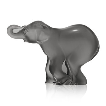 Timori Elephant Sculpture - Gray