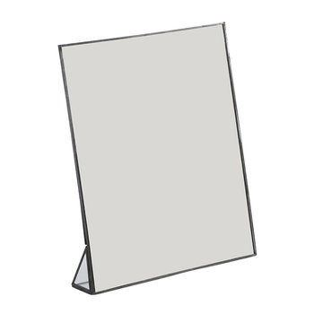 Kiko Standing Mirror - Antique Zinc
