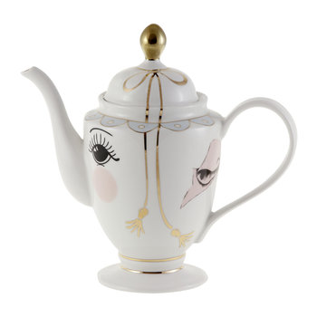 Tea/Coffee Pot With Eyes