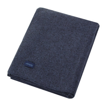 Soft Wool Blanket - Royal Blue