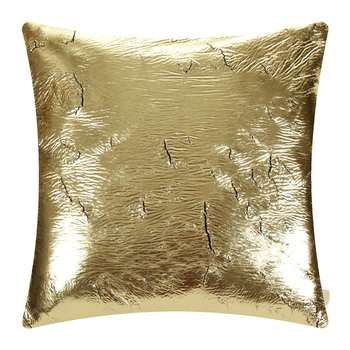 Crack Cushion - 50x50cm - Gold