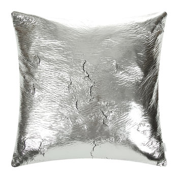 Crack Cushion - 50x50cm - Silver