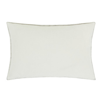 Soft Fleece Bed Cushion - 30x50cm - Off White