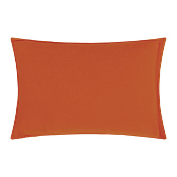 Soft Fleece Bed Pillow - 30x50cm - Papaya