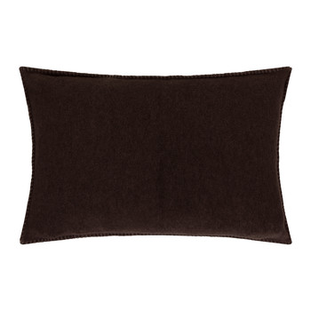 Soft Fleece Bed Pillow - 30x50cm - Dark Brown