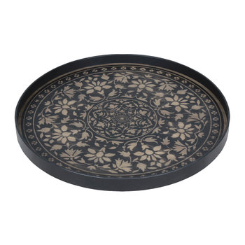 Black Marrakech Driftwood Tray