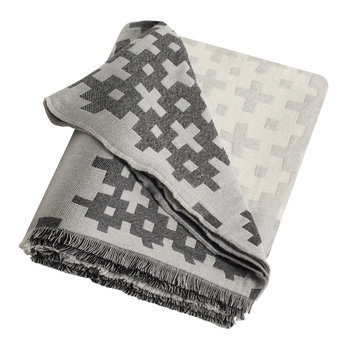 Plus 9 Throw - Grey