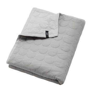 Mega Dot Bed Cover - Light Gray