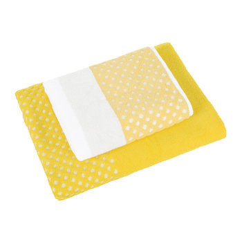 Towels - Autumn Yellow