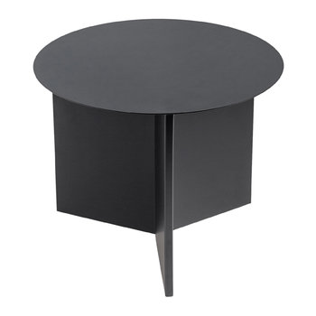 Slit Table - Round - Black