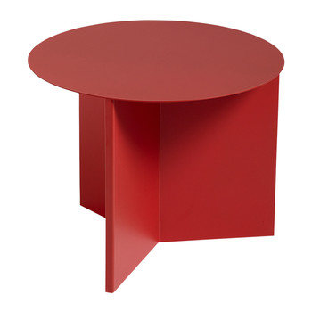Slit Table - Round - Red