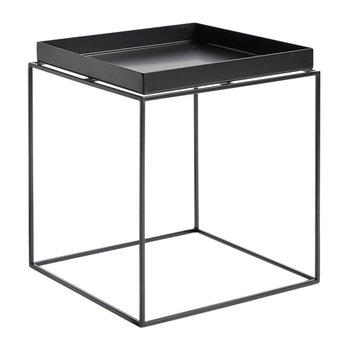 Black Tray Table