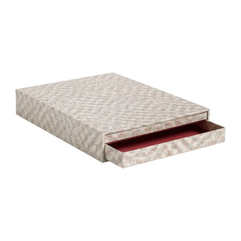 Letter Box A4 Document Holder - Red