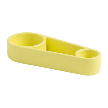Kutter Candle Holder - Yellow