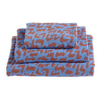 'He She It' Towel - Sky Blue