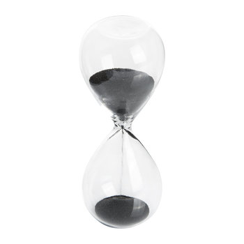 'Time' Hourglass - 3 Minutes - Black