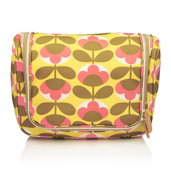 Oval Flower Hanging Wash Bag