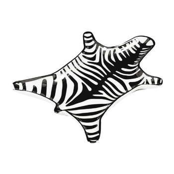 Zebra Stacking Dish - Black & White