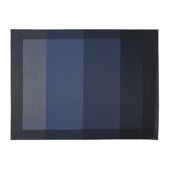 Tempo Rectangle Placemat - Indigo