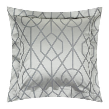 Dedra Pillowcase Set of 2 - 65x65cm - Smoke