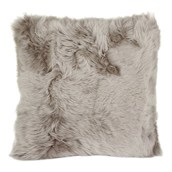 New Zealand Sheepskin Pillow - 50x50cm - Dove