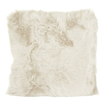 New Zealand Sheepskin Pillow - 50x50cm - Linen