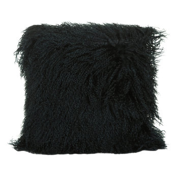 Tibetan Sheepskin Pillow - 40x40cm - Caspian