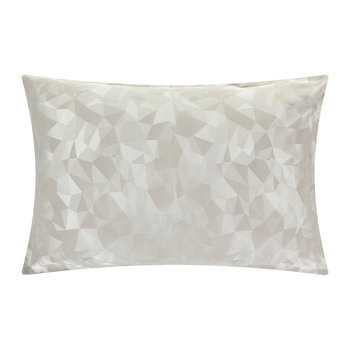 Mosaic Taupe Oxford Pillowcase - Set of 2
