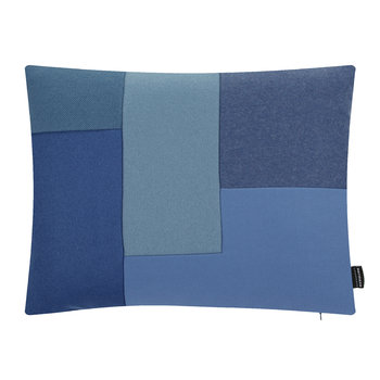 Brick Cushion - 50x60cm - Blue
