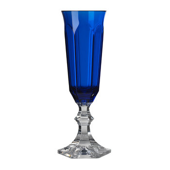 Flute Champagne Glass - Blue