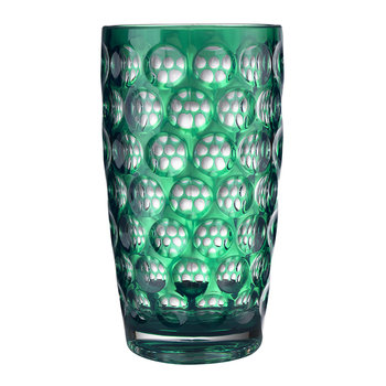 High Lente Acrylic Highball Tumbler - Green