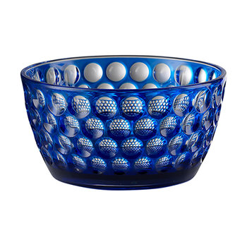 Small Lente Acrylic Bowl - Blue