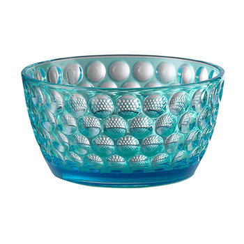 Small Lente Acrylic Bowl - Turquoise