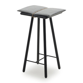 Georg Bar Stool - Low - Black