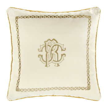 Venezia Reversible Pillow - 40x40cm - Ivory