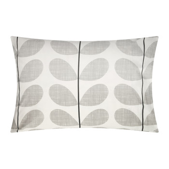 Scribble Soft Pillowcases - Set of 2 - Concrete