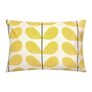 Scribble Soft Pillowcases - Set of 2 - Lemon