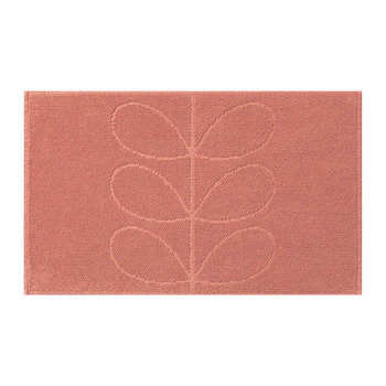 Stem Jacquard Bath Mat - Bubblegum