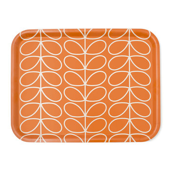 Linear Stem Tray - Persimmon