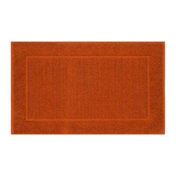 Christy Bath Mat - Paprika