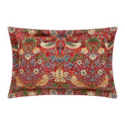 strawberry-thief-oxford-pillowcase-crimson