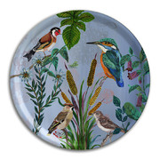 nathalie-lete-birds-in-the-dunes-round-tray-kingfisher