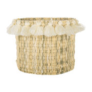 fluorspar-tall-bucket-with-tassels-cream