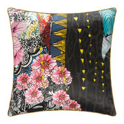 nimphea-silk-cushion-black-40x40cm