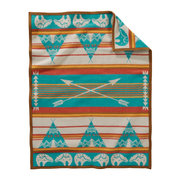 muchacho-baby-blanket-star-guardian-turquoise