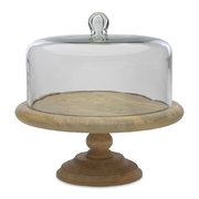 recycled-glass-dome-cake-stand