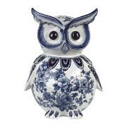 porcelain-piggy-bank-blue-white-owl